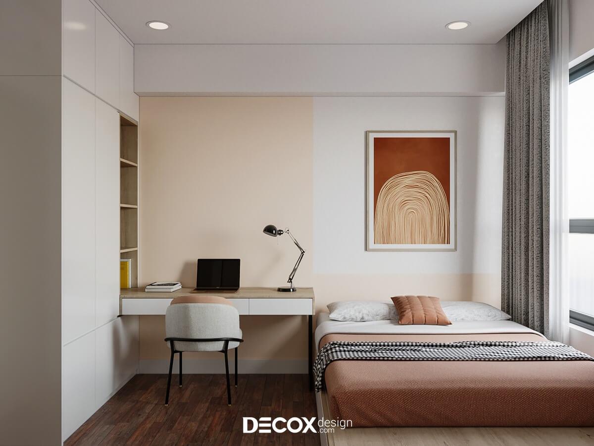 Căn hộ 40m2 không có nhiều không gian để trưng bày nội thất
