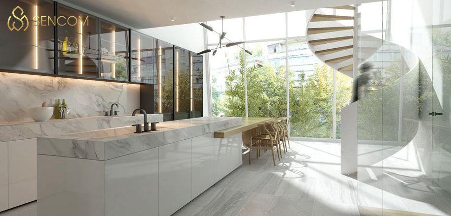 Thiết kế nội thất nhà ống tuy phổ thông nhưng vẫn có những lưu ý quan trọng nhất định. Tham khảo ngay 7 lưu ý khi thiết kế nội thất nhà ông cùng Sencom...