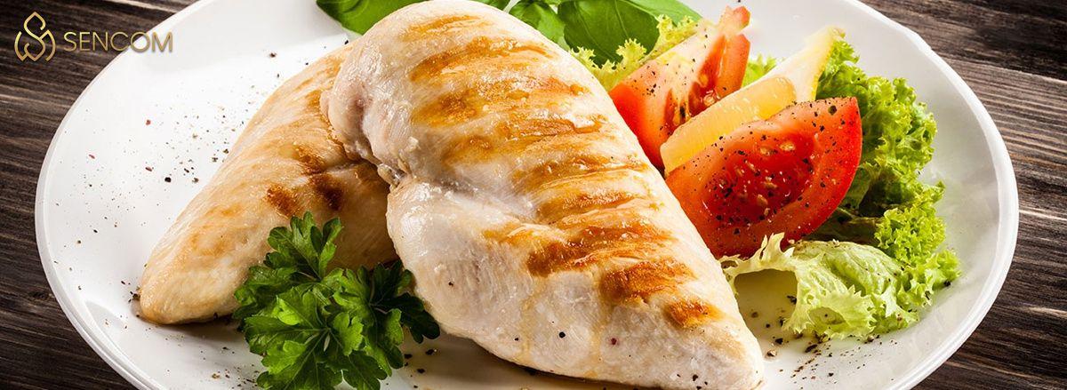 Tìm hiểu ngay ức gà bao nhiêu calo và 7+ món ăn giảm cân chế biến từ ức gà hỗ trợ giảm cân ăn kiêng hiệu quả...