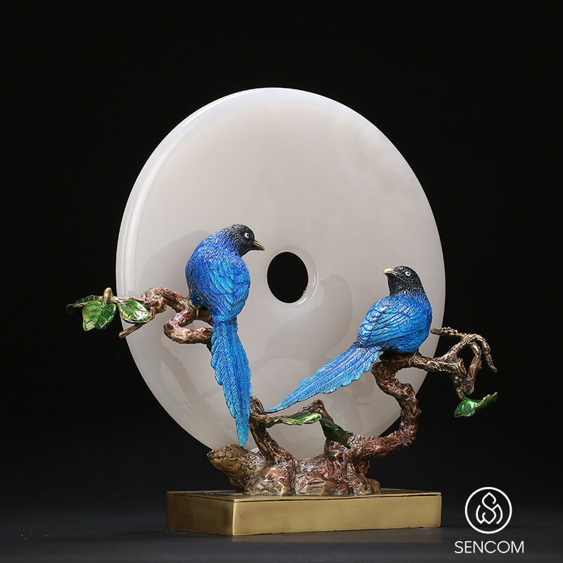 Decor Ngọc Bội Uyên Ương là mẫu decor trang trí cao cấp nhất, nhập khẩu cao cấp, chính hãng, cam kết giá rẻ tốt nhất Hà Nội TpHCM