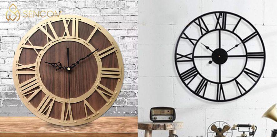 Nếu bạn đang băn khoăn trong việc lựa chọn mẫu đồng hồ trang trí phòng khách thì hãy cùng Sencom tìm hiểu chi tiết bài viết sau...