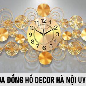 Đồng hồ decor mang tính thẩm mỹ rất cao luôn được ưu tiên lựa chọn trang trí cho không gian. Mua đồng hồ decor Hà Nội uy tín, giá rẻ, nhập khẩu ở đâu?