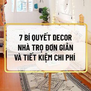 Khi nhắc tới nhà trọ bạn sẽ hình dung đến những căn phòng nhỏ, ngột ngạt và không lấy làm đẹp mắt. Thế nhưng bạn hoàn toàn có thể cải tạo decor nhà trọ trở...