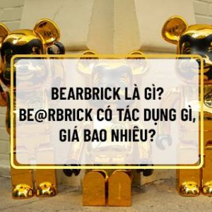 Nếu bạn đang băn khoăn tìm hiểu Bearbrick là gì, tại sao Be@rbrick lại hot như vậy thì hãy cùng Sencom tham khảo bài viết...